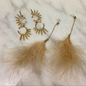 sugarfix by baublebar • gold tone drop earrings